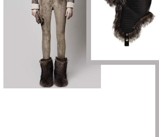 Bally Women - We love the rich winter materials. Subtle luxury is what this brand is about.