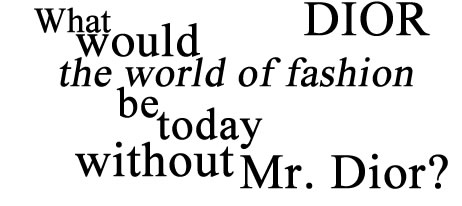 Christian Dior - Mode, Parfums et Accessoires pour Homme et Femme