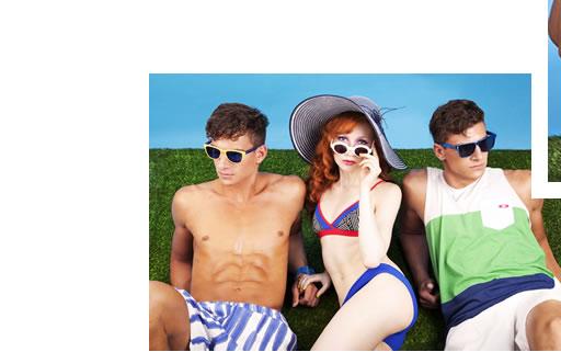 The Glare Shoot Beach Wear Men