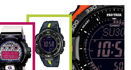 Casio G-Shock digital watches are the ultimate tough watch