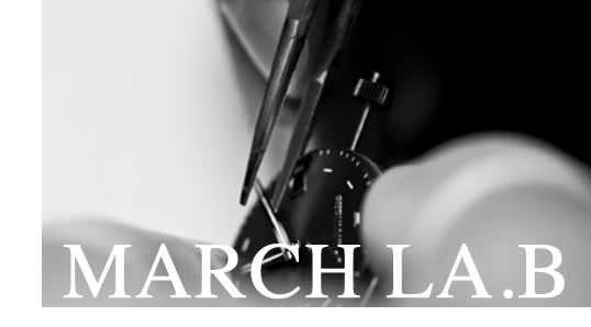 MARCH LA.B - timeless elegance of vintage watches