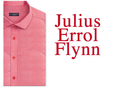 Featuring Designer Clothes - Designer Mens Fashion Julius Errol Flynn