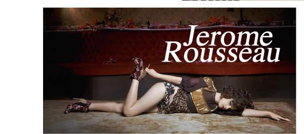 Luxury shoe designer Jerome C. Rousseau
