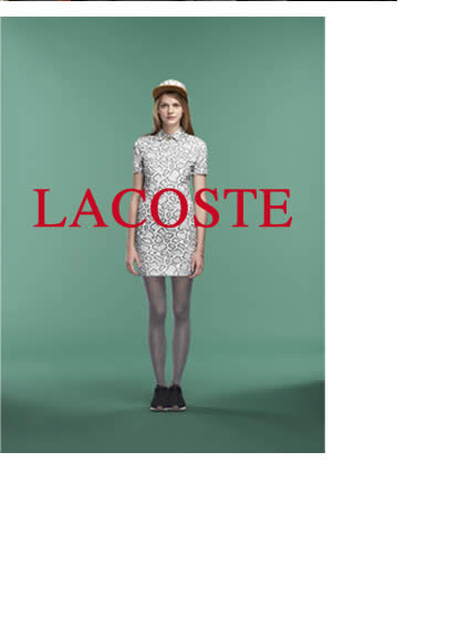THE LACOSTE STYLE - Womens Polos, Shirts, Tees, Sweaters, Jackets, Shorts, Pants & Swimwear