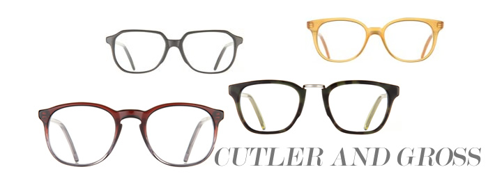 The Glare - Featuring Designer Clothes - Cutler and Gross Luxury Eyewear Brand