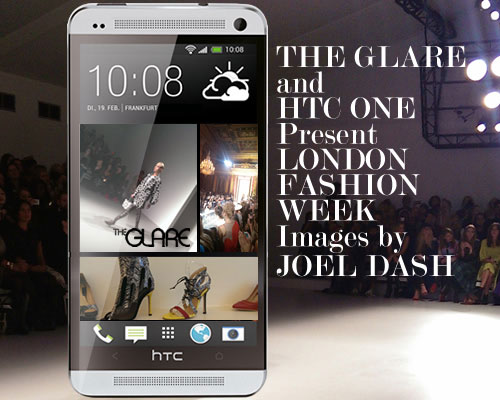 The Glare - Featuring Designer Clothes - HTC ONE Present LONDON FASHION WEEK
