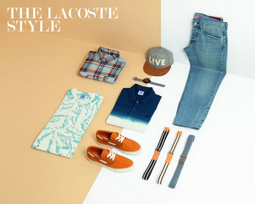The Glare - Featuring Designer Clothes - THE LACOSTE STYLE
